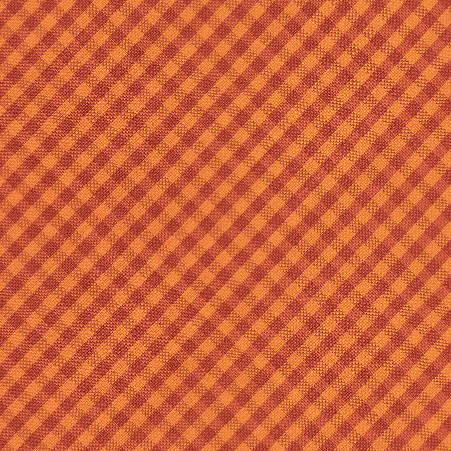 Pattern Photograph   Orang And Brown Checkered Diagonal Tablecloth Cloth  Background By Keith Webber Jr