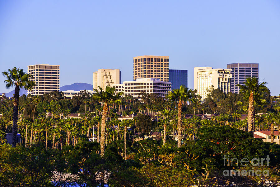 America Photograph - Orange County California Office Buildings Picture by Paul Velgos