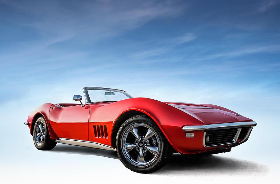 Corvette Digital Art - Hooters by Douglas Pittman