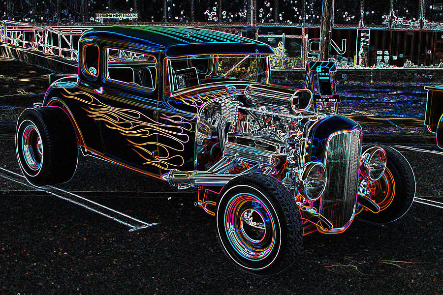 Truck Photograph - Orange Crush Ge by Brad Walters