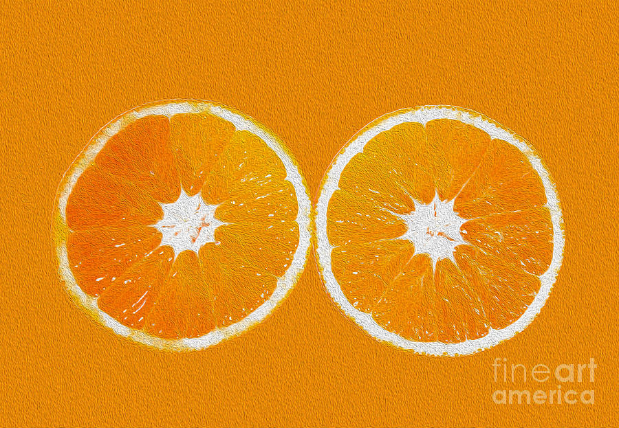 Orange Photograph - Orange Eyes by Victoria Herrera