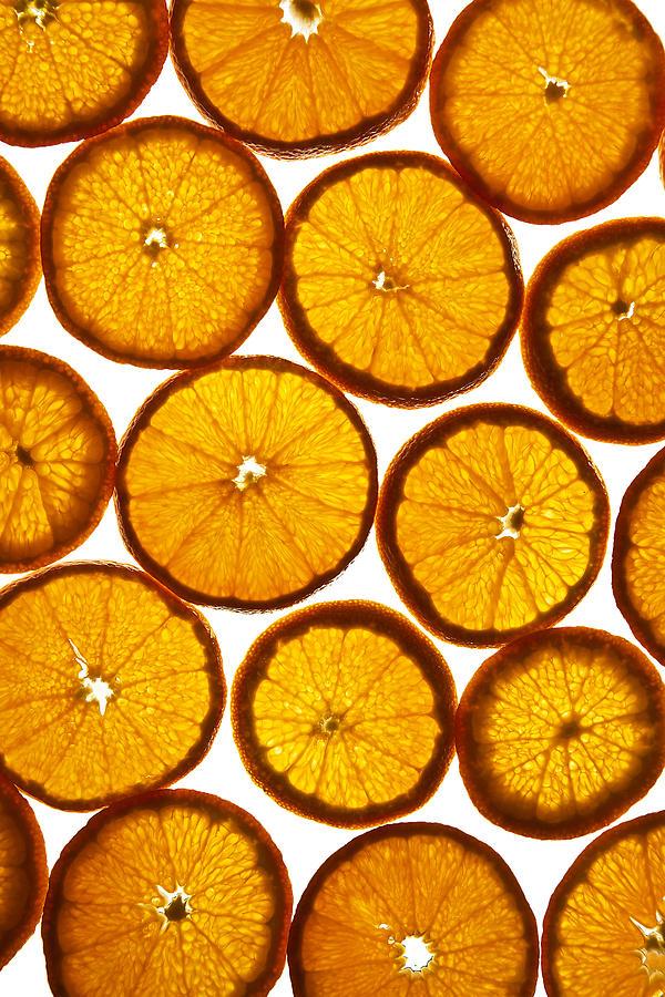 Background Photograph - Orange Fresh by Vitaliy Gladkiy