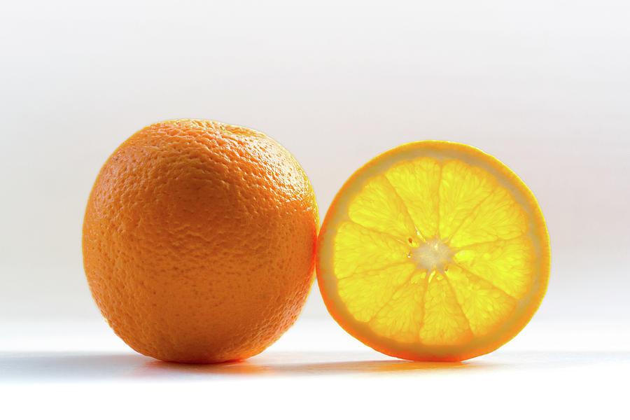 Orange Fruit Composition Photograph by By Felix Schmidt