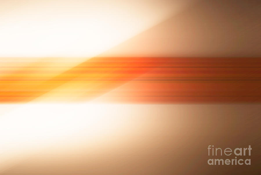 Abstract Photograph - orange I by Hannes Cmarits