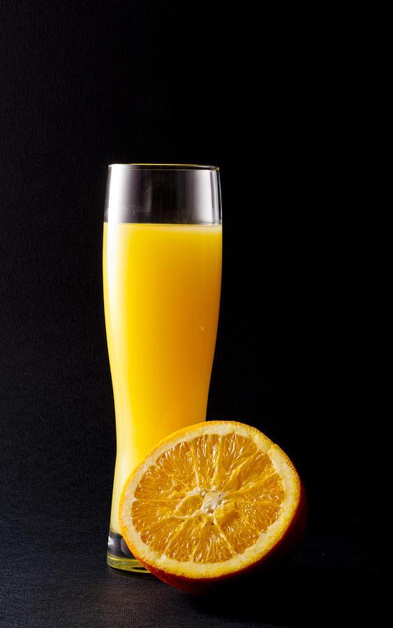 Fresh Photograph - Orange Juice by Gergana Chakalova