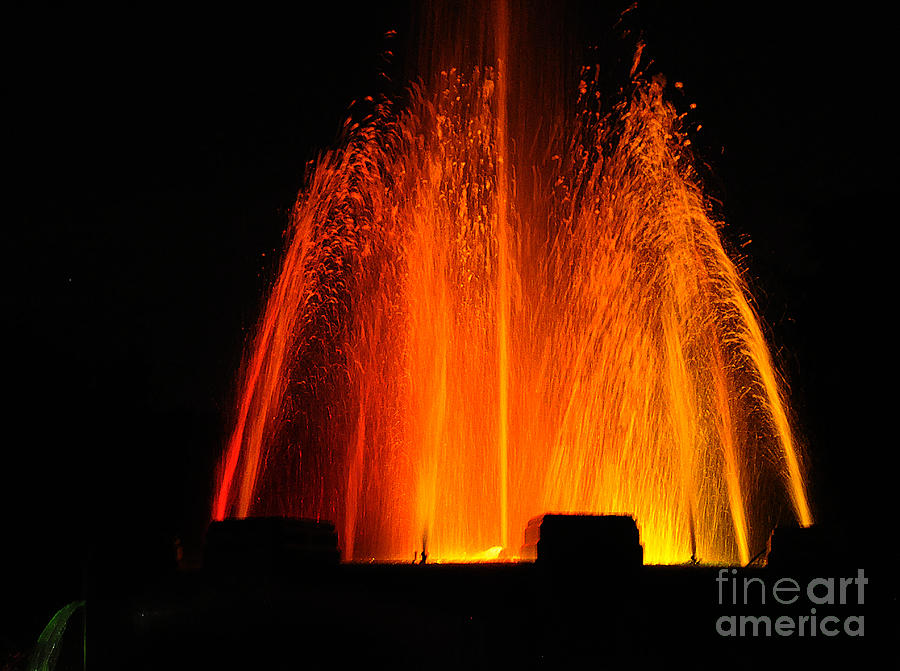 Orange Lava by Clayton Bruster