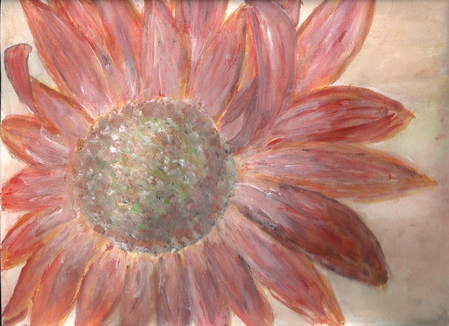 Flower Painting - Orange Petals by Corina  Lupascu