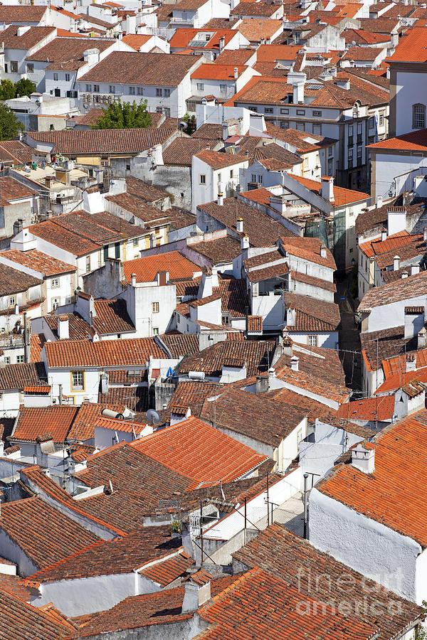 Rooftops Photograph - Orange Roofs by Jose Elias - Sofia Pereira