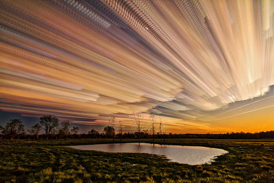 Matt Molloy Photograph - Orange Sky by Matt Molloy