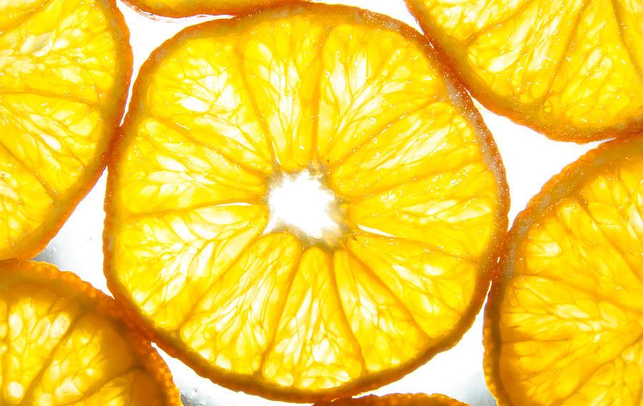 Passion Photograph - Orange. by Slavica Koceva
