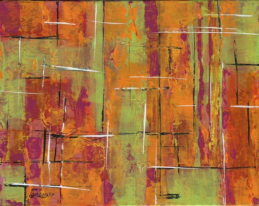 Susan Sadoury Painting - Orange by Susan Sadoury
