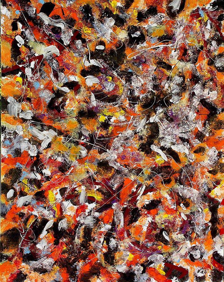 Paintings Painting - Orangerie by Wayne Salvatore