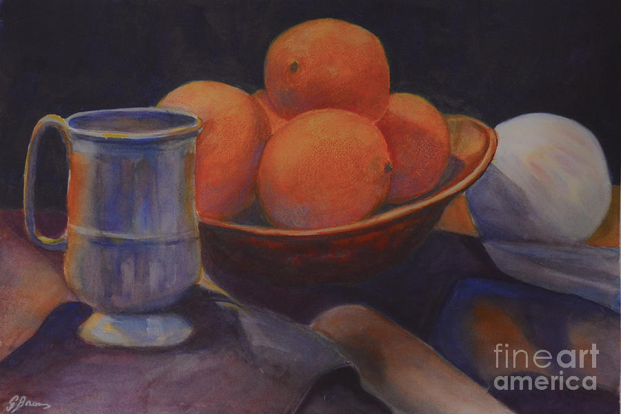 Oranges by Genevieve Brown