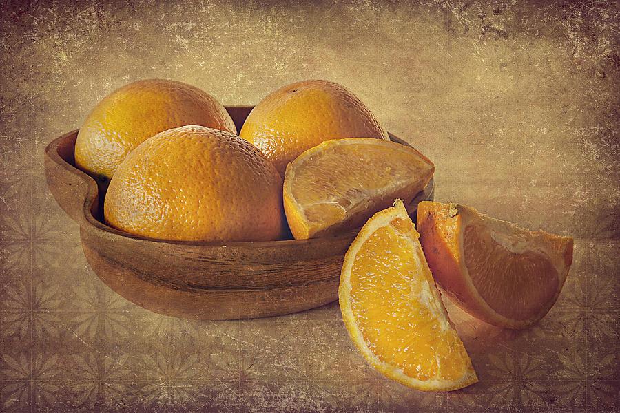 Oranges Photograph - Oranges by Lyn Darlington