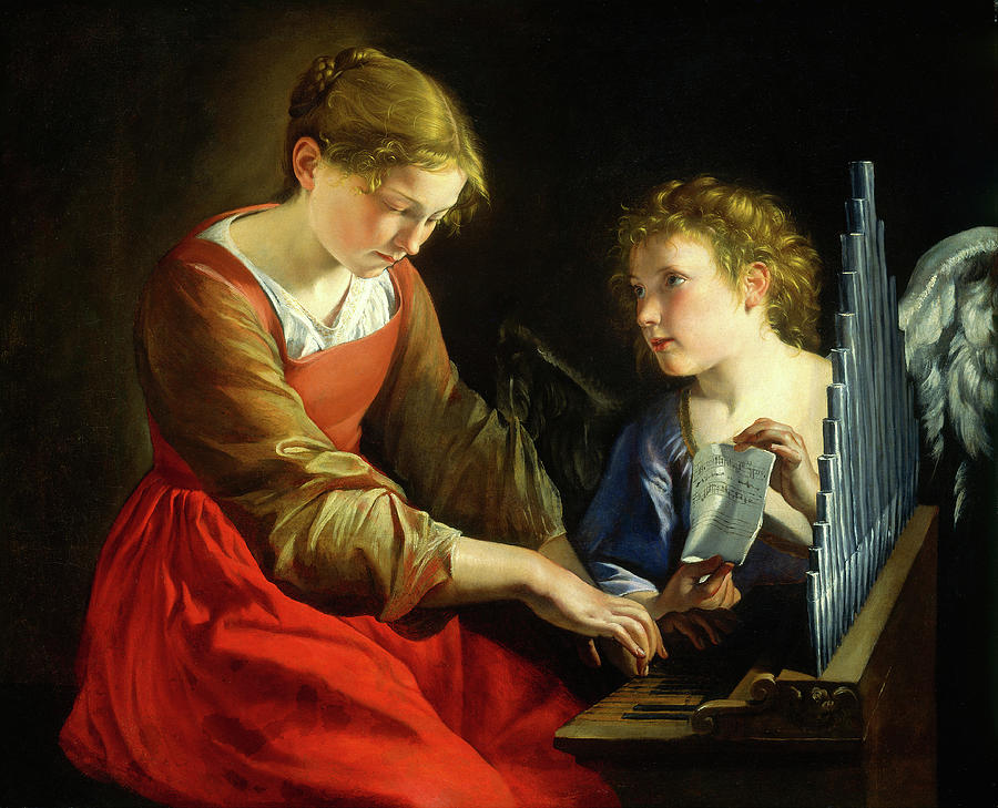Italian Painting - Orazio Gentileschi And Giovanni Lanfranco by Litz Collection