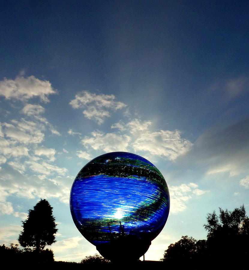 Skyscape Photograph - Orb On Sky by Baato