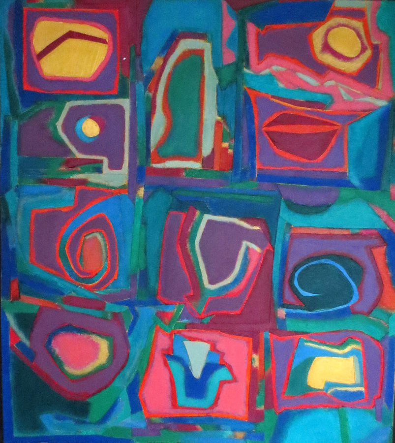 Abstract Expressionism Mixed Media - Orchestra by Diane Fine