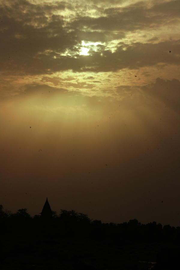 Orchha Sky Photograph by Nandagopal Rajan