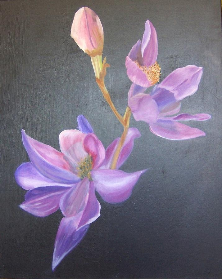Flowers Painting - Orchid by Catherine Swerediuk
