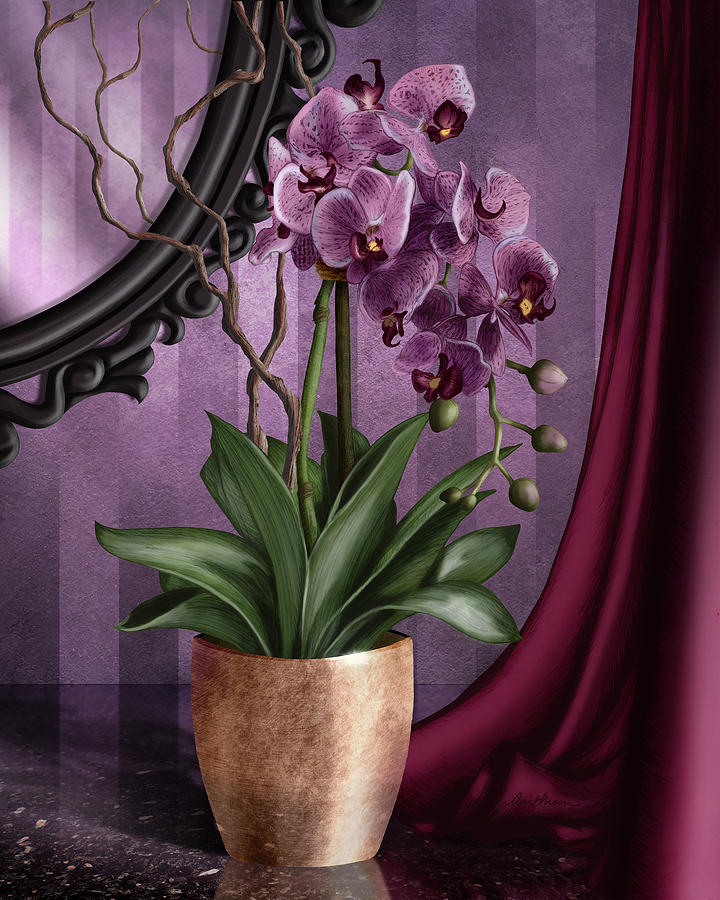 Orchid I by April Moen