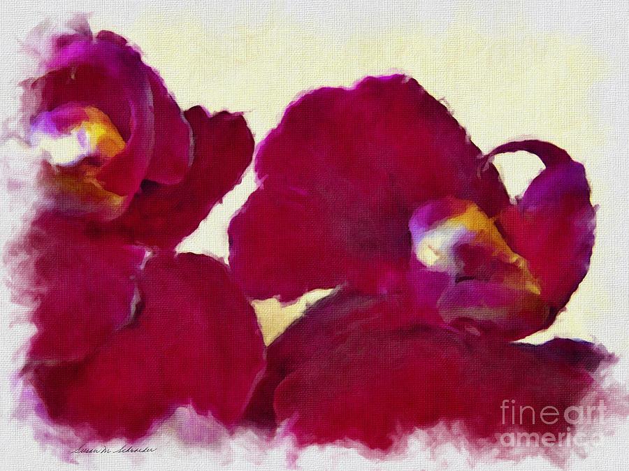 Orchids No. 4 by Susan Schroeder
