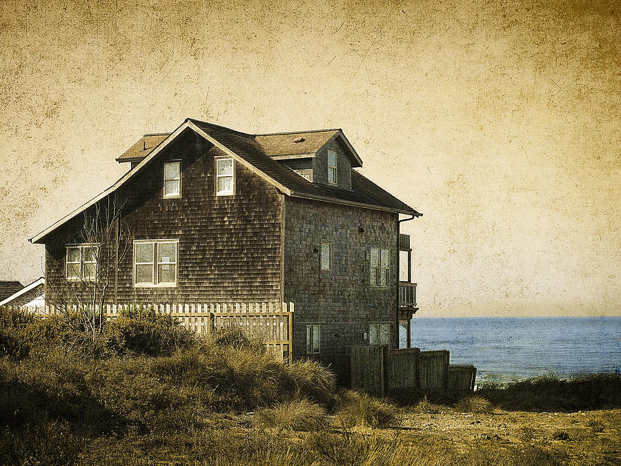 Oregon Coast Beach House Photograph By Daniel Hagerman