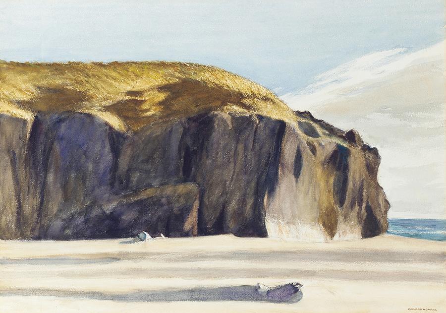 North America Painting - Oregon Coast by Edward Hopper
