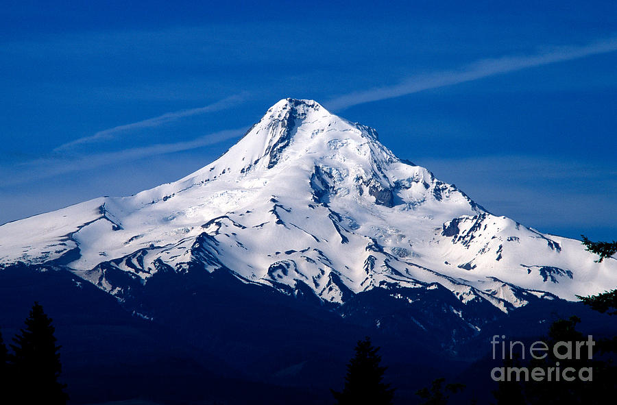 Mount Hood Photograph - Oregon - Mt. Hood by Terry Elniski