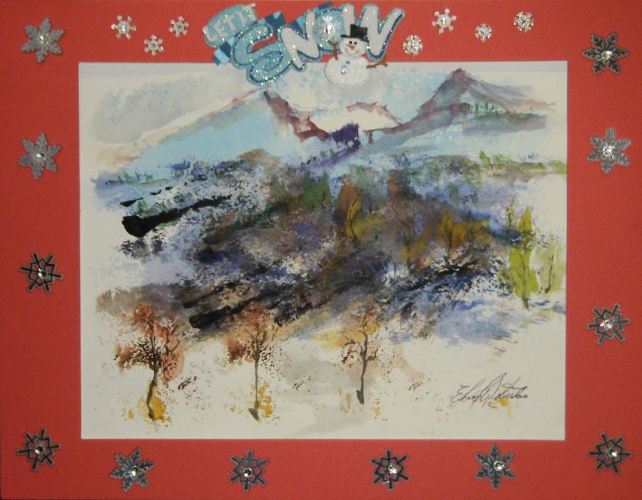 Trail Painting - Oregon Trail by Edward Wolverton