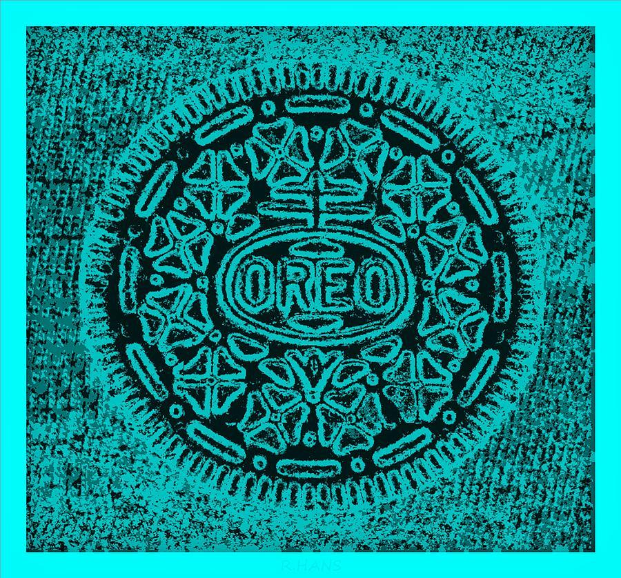 Oreo Hope Turquoise Photograph