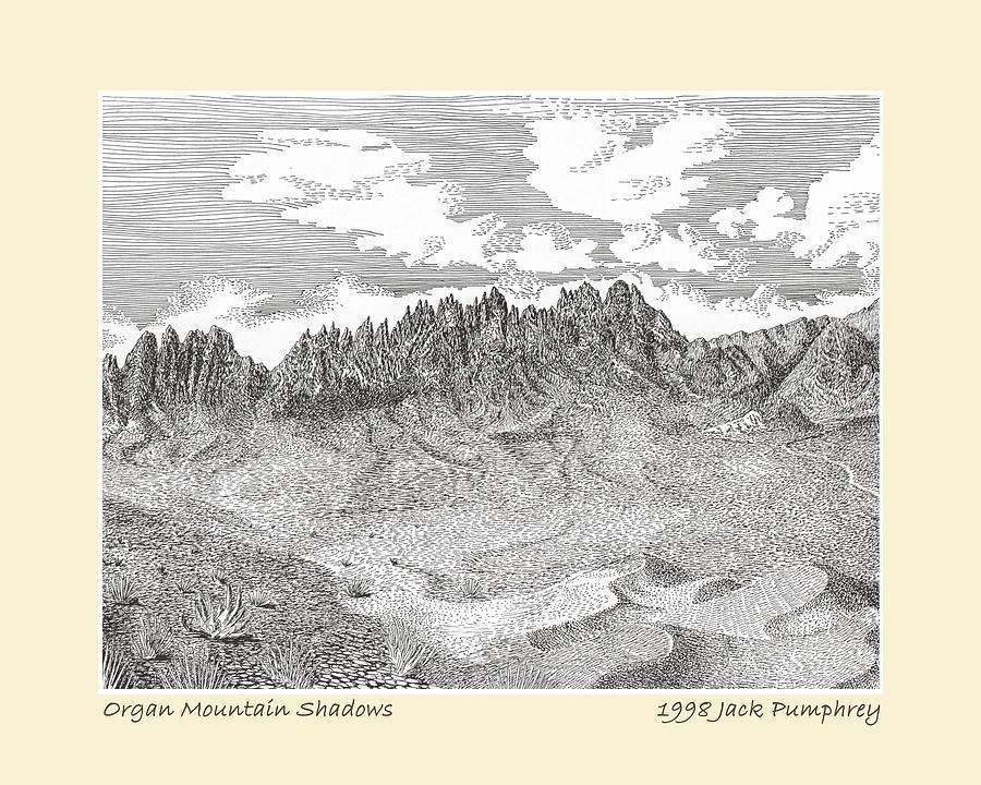Organ Mountain Shadows by Jack Pumphrey