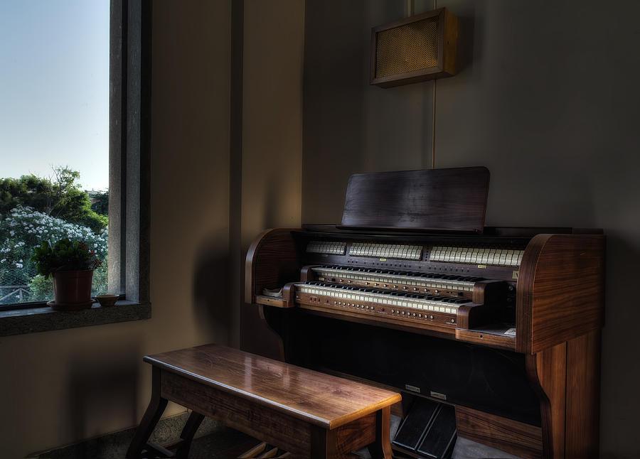 Organ Photograph - Organ With Window by Leonardo Marangi