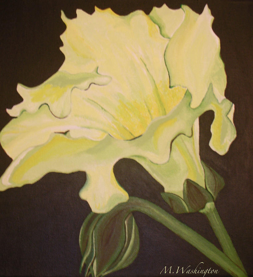 Flora Painting - Organic 4 by Megan Washington