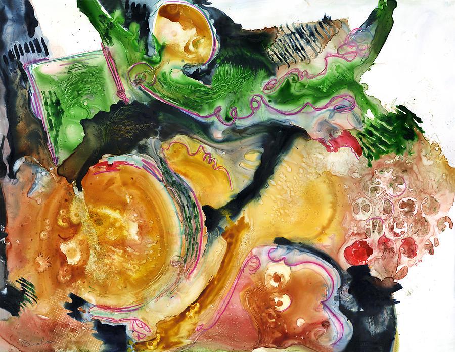 Painting Painting - Organic Abstract Art by Blenda Studio