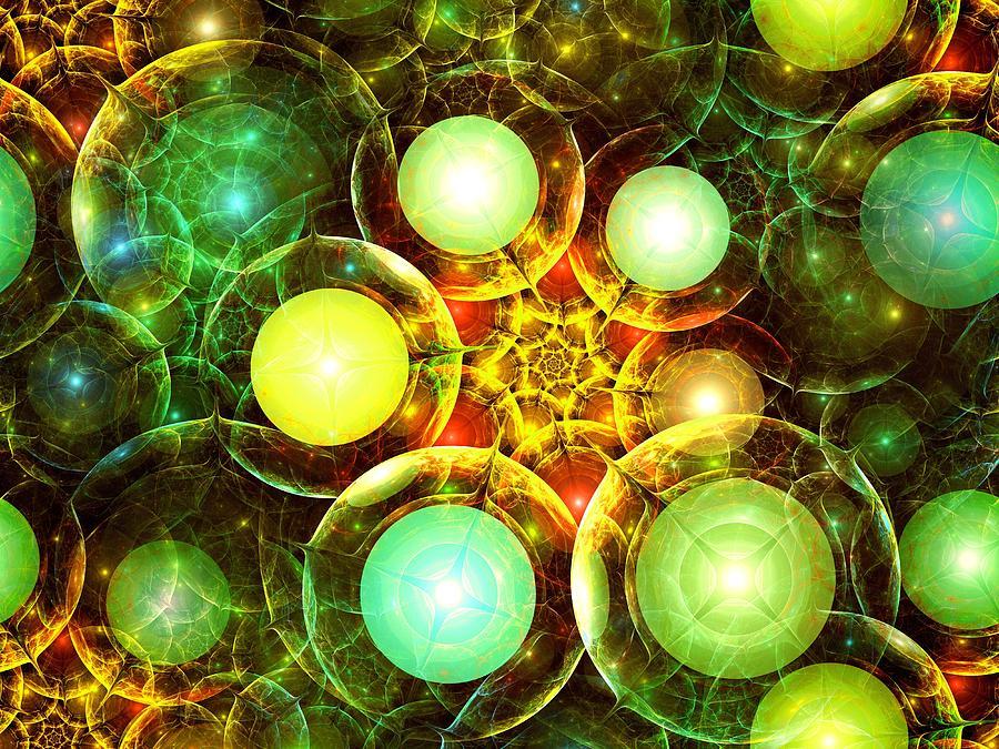 Interior Digital Art - Organic by Anastasiya Malakhova
