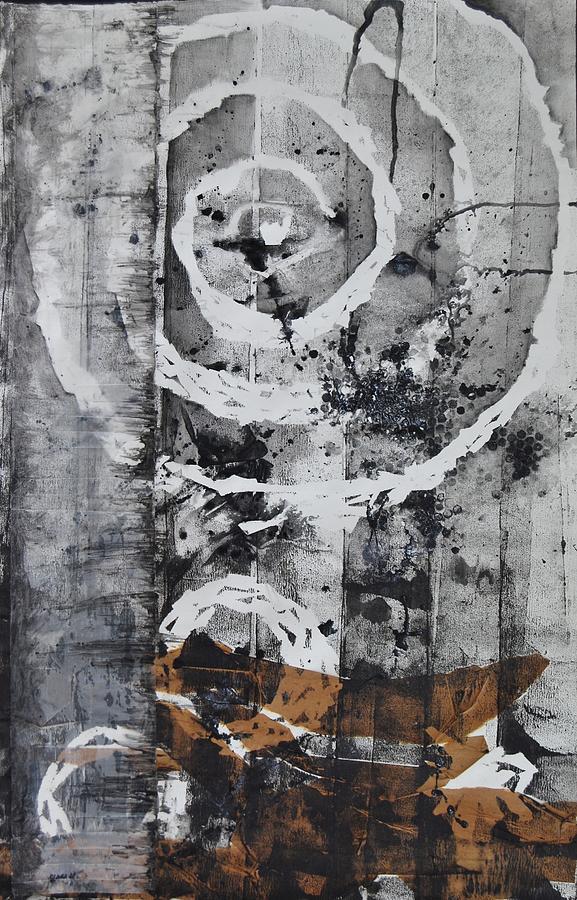 Spiral Mixed Media - Organic Motion by Clara K Johnson