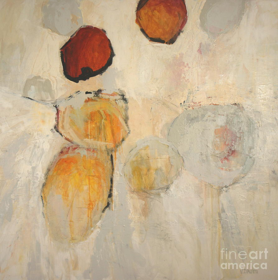 Acrylic Painting - Organics I by Virginia Dauth