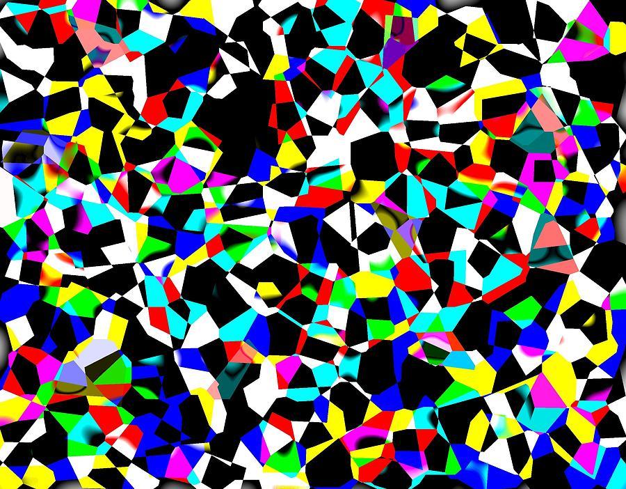Abstract Digital Art - Organized Chaos by Jordan Judd