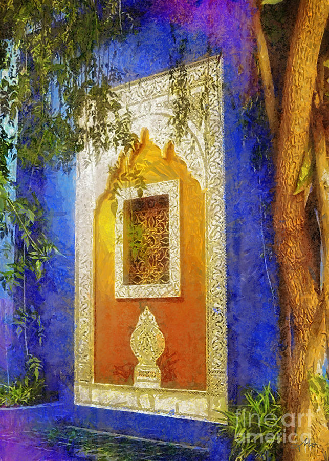 Wall Digital Art - Oriental Mood by Mo T