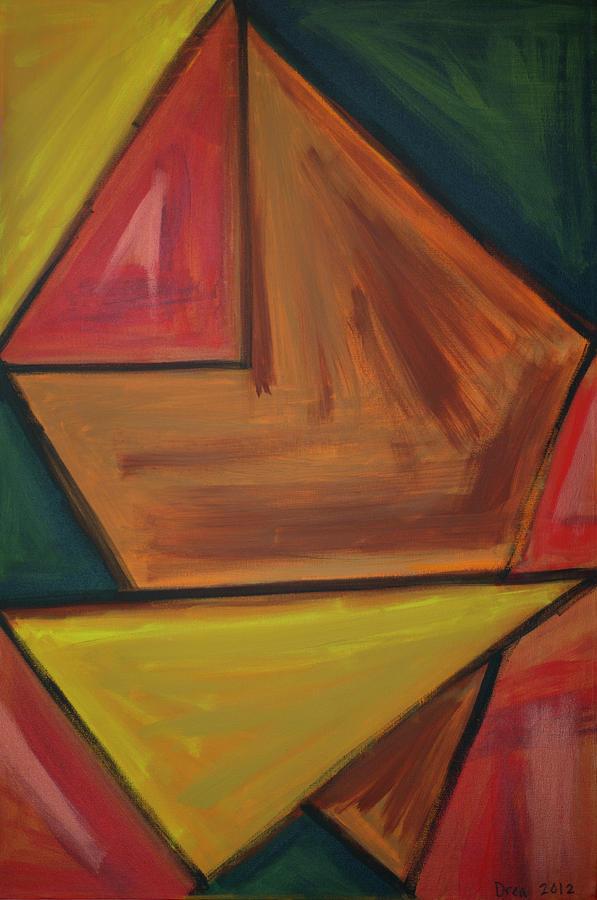 Spirit Painting - Origami 2012 by Drea Jensen
