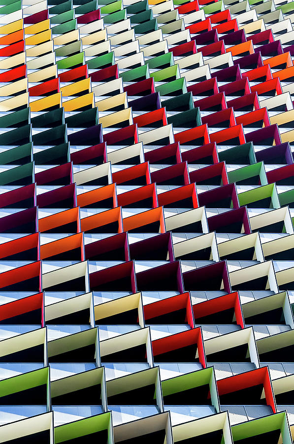 Pattern Photograph - Origami by Jared Lim