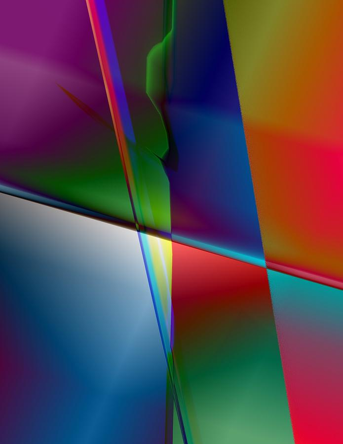 Abstract Digital Art - Original Abstract by Krazee Kustom