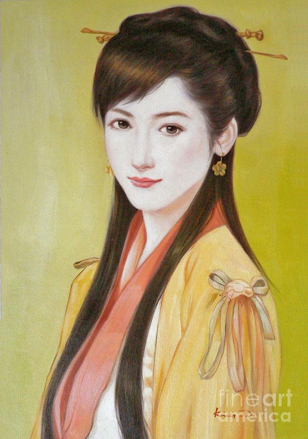Original oil painting artwork beautiful chinese girl16 2 5 34 oil painting painting original oil painting artwork beautiful chinese girl 16 2 voltagebd Image collections