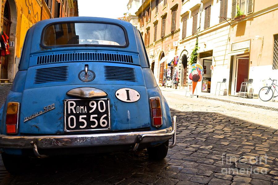 Italy Photograph - Original Fiat by Arthur Hofer