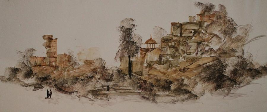 Paintings Painting - Original Landscape Painting  by Sir