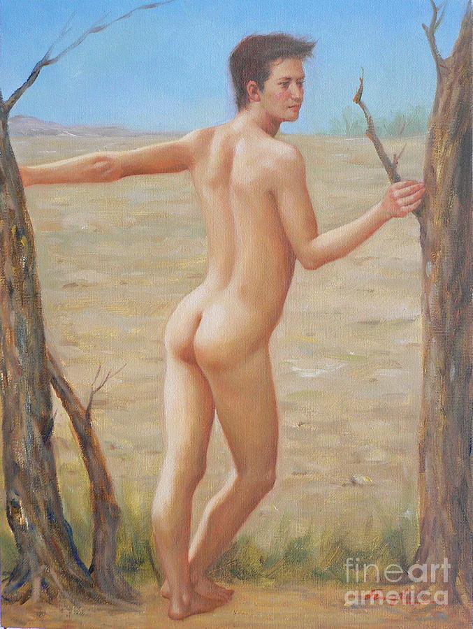 Naked boys art, xxx bikini photo