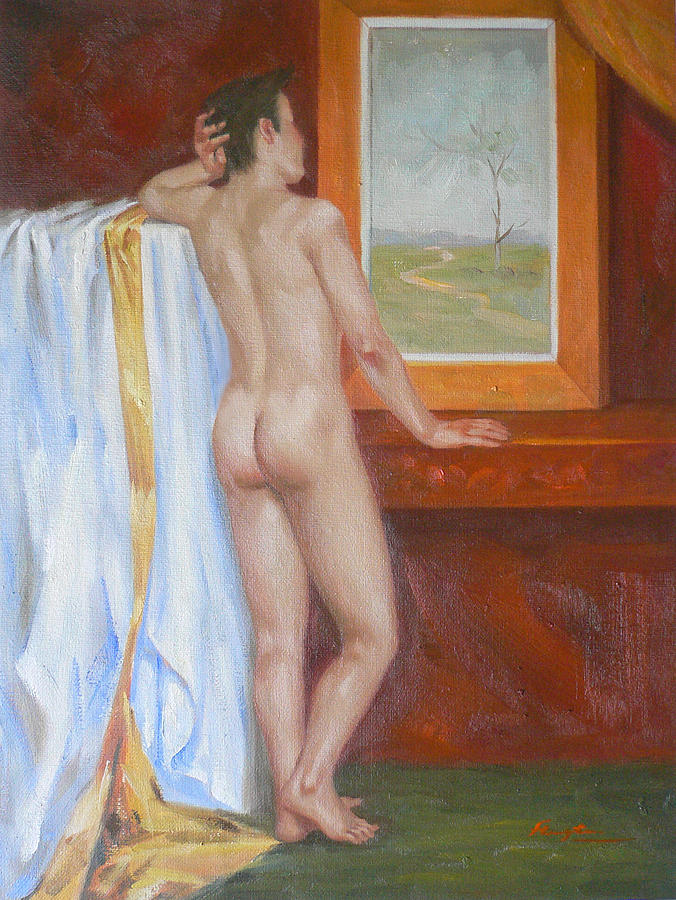 Young Nude Boys In Art - Softcore - Hot Photos-6027