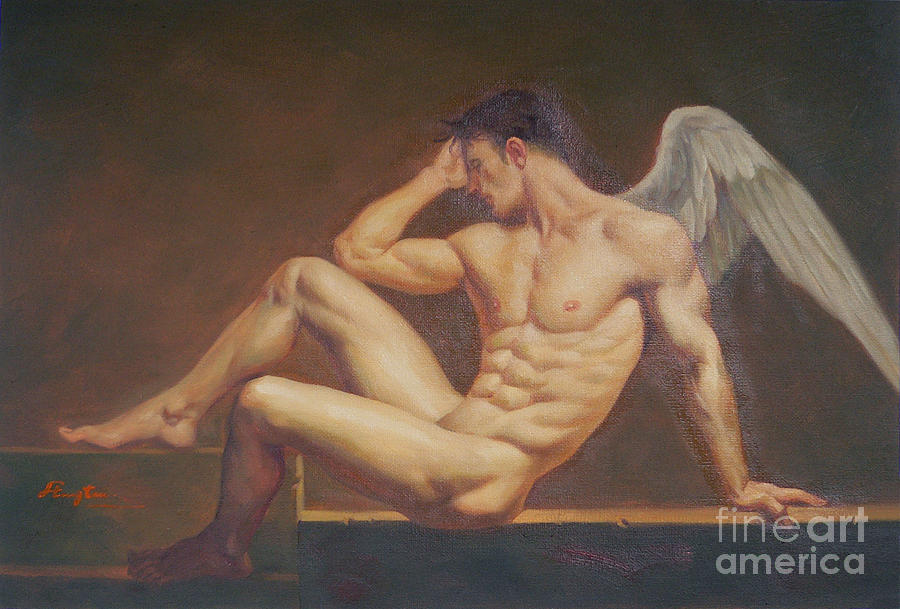 Angel male nude