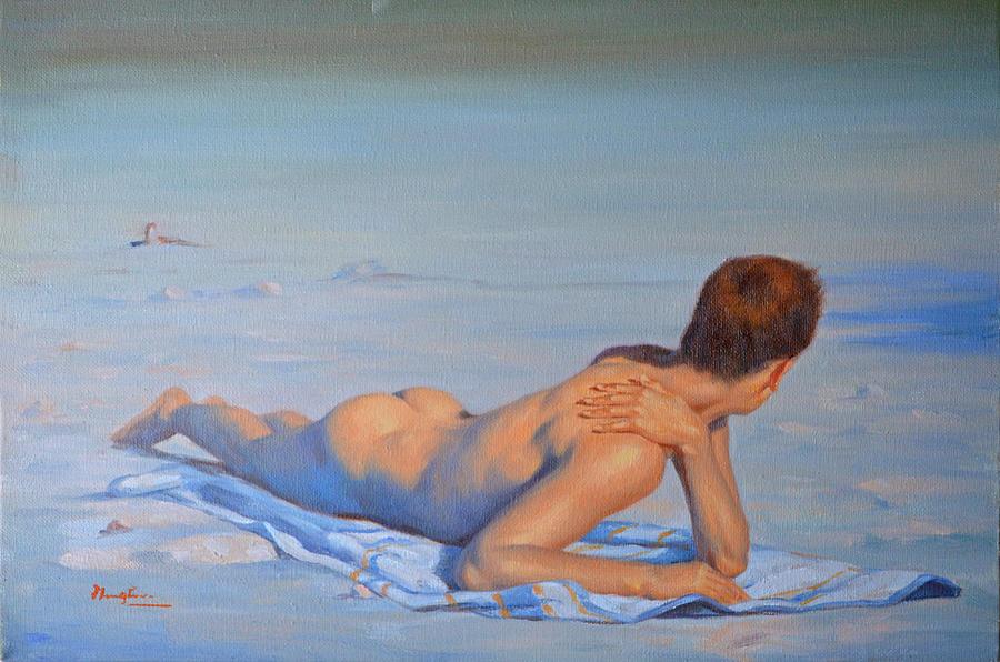 Fine body boys nude art
