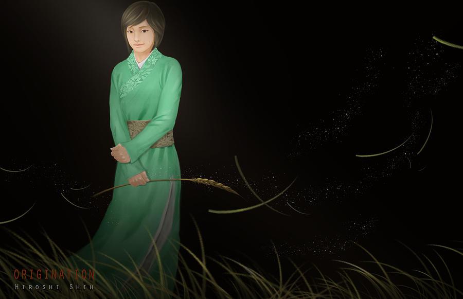 Hiroshi Painting - Origination Ver.b by Hiroshi Shih